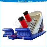 Надувные слайд детская игровая площадка пластиковые сдвиньте ползунок локоны