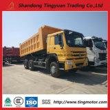 15-20cubic Sinotruk HOWO dump Truck 371HP Diesel engine