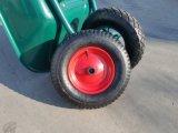 Rotella 4.8/4.00-8 della gomma pneumatica del metallo della carriola