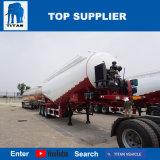 タイタンの手段-乾燥したバルクセメントタンクトレーラーのセメントのトラックの粉のトレーラー80トンの半バルク粉の商品のタンカーの