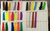ラテン系の服のための熱い販売法の高品質の蛍光性カラーフリンジのカーテンのレース