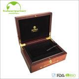 Коробка деревянных ювелирных изделий китайского типа упаковывая при логос напечатанный оптом