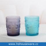 Projeto Girassol coloridos suporte para velas de vidro