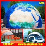 Nuova grande tenda rotonda geodetica del blocco per grafici d'acciaio della cupola da vendere