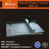 Máquina que arruga del papel manual de Creaser de la talla de A4 A3 (BW-16)