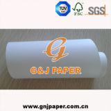 Papel termal del alto ultrasonido blanco usado en la impresora del ultrasonido