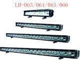 30/60/90/120W LED étanche IP68 Offroad Barre d'éclairage des feux de travail à LED