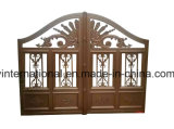 Cancello di alluminio decorativo di sicurezza della Camera/giardino del ferro saldato di qualità superiore