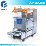 De volledig Automatische Verzegelende Machine van de Kop van de Thee van de Melk van het Roestvrij staal (FB480)