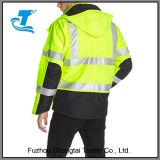 Для лучшей видимости мужчин водонепроницаемая куртка с изоляцией класса 3