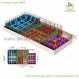 Neue Entwurfs-Sicherheits-extremer Federelement-Trampoline-Park für Kinder