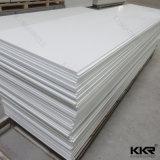 中国12mmの白いカラーアクリルの固体表面のCorians