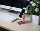Parentesi di alluminio del telefono delle cellule di Holder& del basamento del ridurre in pani del basamento di vantaggio da tavolino