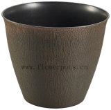 円形のプラスチック植木鉢(KD9131P-KD9133P)