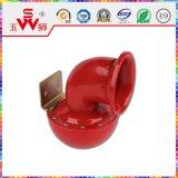 Caramujo vermelho Buzina elétrica de metal 24V