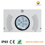 Lámpara de calle solar integrada de IP65 LED con la batería LiFePO4