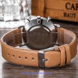 Logo personnalisé Quartz hommes's Watch crystal bracelet suisse pour l'homme (WY-17013B)