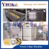 Chips de pommes de terre frites Ligne de traitement Le fonctionnement automatique