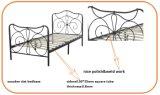Europäischer Art-Anmut-Doppelt-Größen-Ausgangsmetallbett-Rahmen