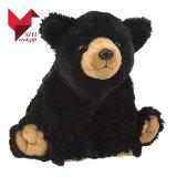 Urso preto do brinquedo bonito do luxuoso para vendas