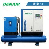 De Compressor van de Lucht van de schroef met Gebouwd in de Droger en de Filters van de Lucht