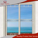 Portello scorrevole di vetro del blocco per grafici di alluminio di alta qualità (JFS-8021)