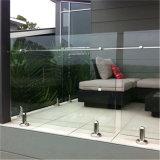 Het moderne Traliewerk van de Spon van het Glas van het Roestvrij staal van het Ontwerp van het Traliewerk van het Balkon