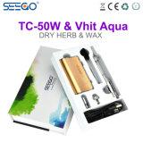 Seego 대중적인 Vhit 물 & Tc 50W 조정가능한 와트수 전자 담배