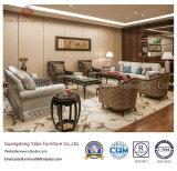 Muebles exclusivos del hotel con los muebles de la sala de estar fijados (YB-OK63)