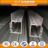 Perfil de aluminio para el marco de la puerta deslizante