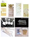 Bois en bambou en plastique de Rod/tampons de coton de papier faisant la machine