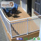 Decking de madera resistente ULTRAVIOLETA barato de WPC Sun para el suelo