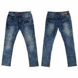 人の普及した高品質の雪の洗浄のジーンズ(5660)