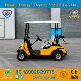 세륨 승인되는 소형 2 Seater 노란 색깔 고품질을%s 가진 전기 골프 카트