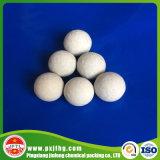 Catalizador de cerámica inerte de la bola del alúmina del 92% para la bola del soporte