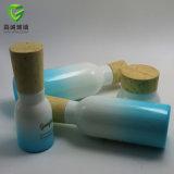 Frasco luxuoso da loção da cerâmica e frasco do cosmético do vidro