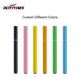 Vape 대량 도매 처분할 수 있는 휴대용 펜 주문 로고 기화기 펜 500는 Ocitytimes에서 내뿜는다
