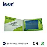 Qualitäts-ultradünnes Geschäfts-Videokarte
