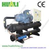 Cer-schraubenartiger Wasser-Kühler mit Wärme-Wiederanlauf