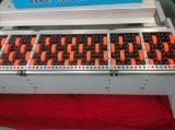 Высокая скорость и высокое качество чернил Flexo гофрированный картон печать нажатием на кнопку угол для нарезки ломтиками и машины для выборки пазов