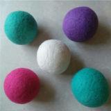 Сподручный шарик химической чистки войлока шерстей очищенности/круглый шарик войлока сушильщика/шарик фабрики сразу шерстяной