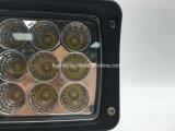 Luz rectangular del trabajo del carro LED del alimentador IP68 6 '' 45W (GT1020-45W)