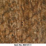 Numéro en bois Ma141-1 de film d'impression de transfert de l'eau de crépitement
