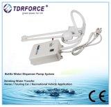 Applicazione del sistema di pompaggio dell'erogatore delle acque in bottiglia ed energia elettrica una bottiglia da 5 galloni