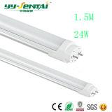 Het nieuwe 1.5m 24W T8 LEIDENE Fluorescente Licht van de Buis