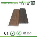 Mit einer Kappe bedeckter zusammengesetzter Decking, Hohecotech Schild-zusammengesetzter Bodenbelag, beständiger zweites Erzeugungs-Zusammensetzung-UVfußboden