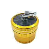 Metalltabak-Kraut-Schleifer für rauchenden Großverkauf (ES-GD-137)