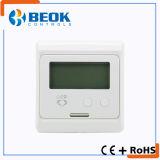 Termóstato del sitio del LCD del uso del hogar para la calefacción de suelo