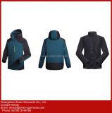 2018 Nuevo Diseño personalizado de caparazón blando Windproof impermeables chaquetas de abrigo de lana para el exterior (J272)