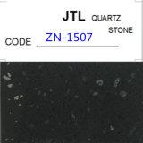Schwarzer Quarz-Stein für Countertop-Gebrauch